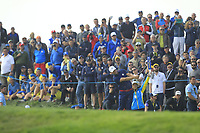 Alex Noren (Team Europe) on the 7th fairway during the Friday Foursomes at the Ryder Cup, Le Golf National, Ile-de-France, France. 28/09/2018.<br /> Picture Thos Caffrey / Golffile.ie<br /> <br /> All photo usage must carry mandatory copyright credit (&copy; Golffile | Thos Caffrey)