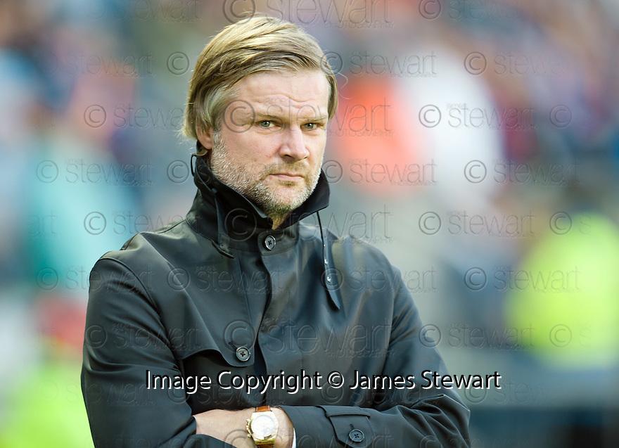 Falkirk manager Steven Pressley.