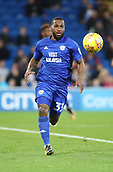 31st October 2017, Cardiff City Stadium, Cardiff, Wales; EFL Championship football, Cardiff City versus Ipswich Town; Junior Hoilett of Cardiff City in action with the ball