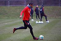Sebastien Haller (Eintracht Frankfurt) - 05.12.2017: Eintracht Frankfurt Training, Commerzbank Arena