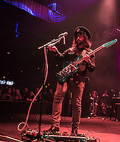 LAS VEGAS, NV - July 31, 2016: ***HOUSE COVERAGE*** Sean Lennon pictured as he performs with The Claypool Lennon Delirium at Brooklyn Bowl at The Linq  in Las vegas, NV on July 31, 2016. Credit: Erik Kabik Photography/ MediaPunch