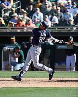 Austin Allen - San Diego Padres 2018 spring training (Bill Mitchell)