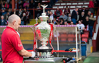 Picture by Allan McKenzie/SWpix.com - 22/04/2018 - Rugby League - Ladbrokes Challenge Cup - York City Knight v Catalans Dragons - Bootham Crescent, York, England - Ladbrokes Challenge Cup Trophy.