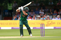 Michael Lumb hits four runs for Notts during Essex Eagles vs Notts Outlaws, Royal London One-Day Cup Semi-Final Cricket at The Cloudfm County Ground on 16th June 2017