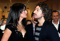 Giornate Professionali del Cinema 2014     <br /> Maria Grazia Cucinotta and Alessandro Sianio  during the professional days of cinema in Sorrento december 02 , 2014                         Giornate Professionali del Cinema 2014