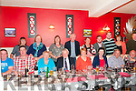 Double Birthday Celabration : Wiilie Sheahan, Moyvane, fourth from left back & Kate Lane, Finuge, fifth from left back celebrating their birthdays with family & friends at Eabha Joan's Restaurant, Listowel on Friday evening last.