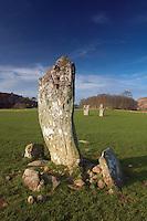 Nether Largie Standing Stones, Kilmartin Glen, Kilmartin, Argyll & Bute