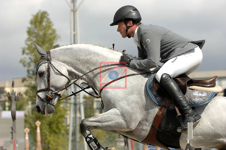 CSIO Barcelona 2018.<br /> Longines-Jumping Nations Cup-Barcelona 2018.<br /> Phillipp Weishaupt.