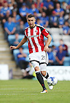 Sheffield United's James Wilson in action during the League One match at the Priestfield Stadium, Gillingham. Picture date: September 4th, 2016. Pic David Klein/Sportimage