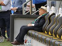Der aus Aachen stammende Ehrenpräsident des DFB Egidius Braun ist im Stadion  - 05.06.2019: Öffentliches Training der Deutschen Nationalmannschaft DFB hautnah in Aachen