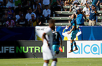 Carson, CA - September 25, 2016: The Seattle Sounders FC defeat the Los Angeles Galaxy 4-2 with Jordan Morris contributing 2 goals in a Major League Soccer (MLS) match at StubHub Center.