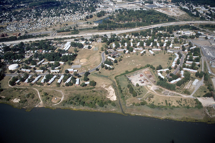 1997 September 23..Assisted Housing..Grandy Village...Aerial looking North...NEG#.NRHA#..