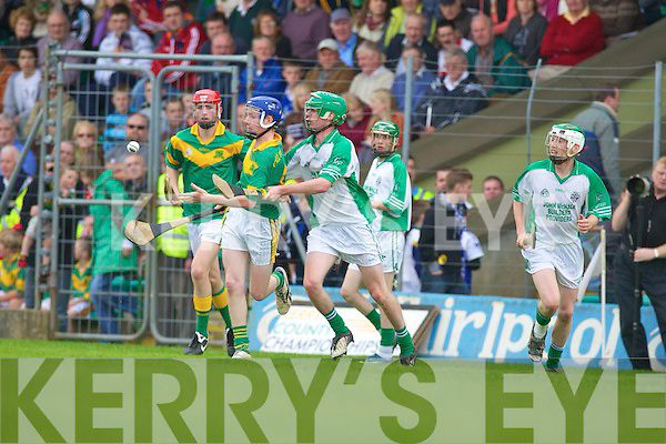Kilmoyley v Ballyduff in the Minior Hurling County Championship Final ay Austin Stack Park, Tralee on Sunday.