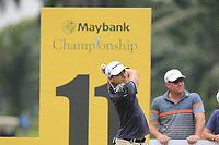 Joakim Lagergren (SWE) on the 11th during Round 2 of the Maybank Championship at the Saujana Golf and Country Club in Kuala Lumpur on Friday 2nd February 2018.<br /> Picture:  Thos Caffrey / www.golffile.ie<br /> <br /> All photo usage must carry mandatory copyright credit (&copy; Golffile | Thos Caffrey)