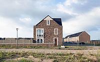 Nederland  Almere- 2019.  Nieuwbouw in Almere Poort.  Foto Berlinda van Dam / Hollandse Hoogte