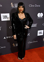 09 February 2019 - Beverly Hills, California - Jazmine Sullivan. The Recording Academy And Clive Davis' 2019 Pre-GRAMMY Gala held at the Beverly Hilton Hotel.   <br /> CAP/ADM/BT<br /> ©BT/ADM/Capital Pictures