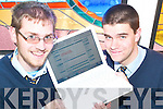 Denis Ahern and Paul Murphy, students at Listowel Community College who have launched their own websites..   Copyright Kerry's Eye 2008