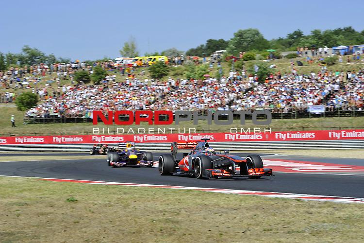 25. - 28.07.2013, Hungaroring, Budapest, HUN, F1, Grosser Preis von Ungarn, Hungaroring, im Bild Jenson Button (GBR),  McLaren F1 Team  <br />  Foto &copy; nph / Mathis