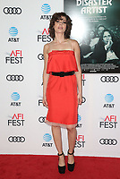 HOLLYWOOD, CA - NOVEMBER 12: Alison Brie, at the AFI Fest 2017 Centerpiece Gala Presentation of The Disaster Artist on November 12, 2017 at the TCL Chinese Theatre in Hollywood, California. <br /> CAP/MPIFS<br /> &copy;MPIFS/Capital Pictures