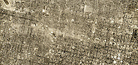 historical aerial photograph Sacramento, California, 1952