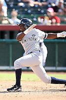 Jose Pirela - Phoenix Desert Dogs - 2010 Arizona Fall League.Photo by:  Bill Mitchell/Four Seam Images..
