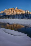 Castle Mountain. Photo Credit: Sergei Belski