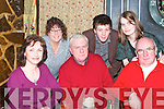 "Getting together for the recording of ""The Rambling House"" by Radio Kerry in Jessie James Bar, Asdee on Friday night were front l-r: Kay Liston Athea, John Paul Galvin, Asdee and Tom O'Keeffe, Athea. Back l-r: Margaret Keane-Stack, Asdee, Robbie Buckley, Asdee and Jenny Liston, Athea..   Copyright Kerry's Eye 2008"