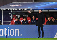 10th March 2020, Red Bull Arena, Leipzig, Germany; EUFA Champions League, RB Leipzig v Tottenham Hotspur;  Trainer Julian Nagelsmann RB Leipzig