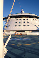 Helicopter Deck on Cruise Ship