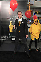 """LOS ANGELES - SEP 5:  Chris Hardwick at the """"It"""" Premiere at the TCL Chinese Theater IMAX on September 5, 2017 in Los Angeles, CA"""