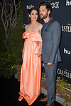 WEST HOLLYWOOD, CA - OCTOBER 14: Lizzy Caplan and Tom Riley at Hulu's Castle Rock Season 2 Premiere at AMC Sunset 5 in West Hollywood, California on October 14, 2019. Credit: Tony Forte/MediaPunch