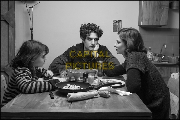 Olga Milshtein, Louis Garrel, Anna Mouglalis<br /> in Jealousy (2013) <br /> (La jalousie)<br /> *Filmstill - Editorial Use Only*<br /> CAP/NFS<br /> Image supplied by Capital Pictures