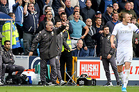 Leeds United Head Coach, Marcelo Bielsa shows his anger and frustration in the second half during Millwall vs Leeds United, Sky Bet EFL Championship Football at The Den on 5th October 2019