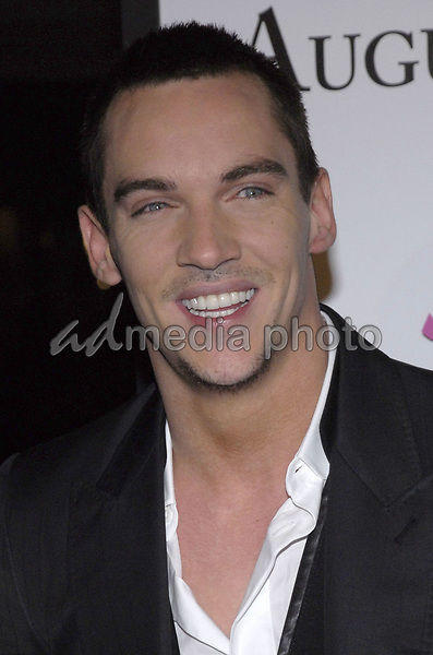 "11 November 2007 - New York, New York - Jonathan Rhys Meyers. The New York premiere of Warne Bros. Pictures' ""August Rush"" held at  the Ziegfeld Theater.  Photo Credit: Bill Lyons/AdMedia *** Local Caption ***"