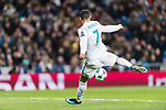 Cristiano Ronaldo of Real Madrid in action during the Europe Champions League 2017-18 match between Real Madrid and Borussia Dortmund at Santiago Bernabeu Stadium on 06 December 2017 in Madrid Spain. Photo by Diego Gonzalez / Power Sport Images