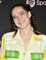 LOS ANGELES, CA - FEBRUARY 07: Sophie Hawley-Weld  attends Spotify's Best New Artist Party at the Hammer Museum on February 07, 2019 in Los Angeles, California.<br /> CAP/ROT/TM<br /> ©TM/ROT/Capital Pictures