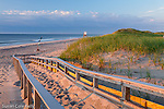 Sunrise on Nauset Beach in Orleans, Cape Cod, Massachusetts, USA