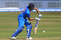 India's Rohit Sharma plays a shot during a T20 match between Ireland and India at the Malahide cricket club in Dublin on June 27, 2018. Photo/Paul McErlane