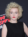 Julia Garner attends The Dimension Film's L.A. Premiere of FRANK MILLER'S SIN CITY: A DAME TO KILL FOR held at  The TCL Chinese Theatre in Hollywood, California on August  19,2014                                                                               © 2014 Hollywood Press Agency