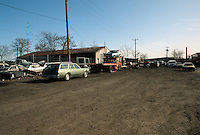 1992 January..Conservation.MidTown Industrial...EXISTING BUSINESSES.EXISTING CONDITIONS.ACKS JUNKYARD.LOOKING EAST ON 22ND STREET...NEG#.NRHA#..