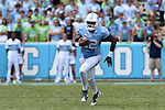 19 September 2015: UNC's Marquise Williams. The University of North Carolina Tar Heels hosted the University of Illinois Fighting Illini at Kenan Memorial Stadium in Chapel Hill, North Carolina in a 2015 NCAA Division I College Football game. UNC won the game 48-14.