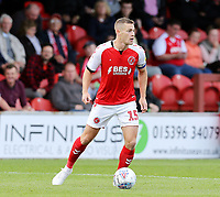 Fleetwood Town's Paul Coutts<br /> <br /> Photographer Rich Linley/CameraSport<br /> <br /> The EFL Sky Bet League One - Fleetwood Town v Oxford United - Saturday 7th September 2019 - Highbury Stadium - Fleetwood<br /> <br /> World Copyright © 2019 CameraSport. All rights reserved. 43 Linden Ave. Countesthorpe. Leicester. England. LE8 5PG - Tel: +44 (0) 116 277 4147 - admin@camerasport.com - www.camerasport.com