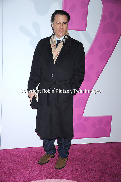 "actor Andy Garcia..posing for photographers at The World Premiere of ""The Pink Panther 2 staring Steve Martin, Jean Reno, Emily Mortimer, Andy Garcia and Aishwarya Rai Bachchan on ..February 3, 2009 at The Ziegfeld Theatre in New York City. ....Robin Platzer, Twin Images"