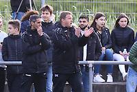Trainer Driton Kameraj (SKV Büttelborn) - Büttelborn 15.05.2019: SKV Büttelborn vs. Kickers Offenbach, A-Junioren, Hessenpokal Halbfinale