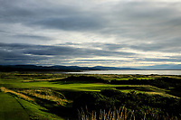 General View and 17th green during the Boys' Home Internationals played at Royal Dornoch, Dornoch, Sutherland, Scotland. 07/08/2018<br /> Picture: Golffile | Phil Inglis<br /> <br /> All photo usage must carry mandatory copyright credit (&copy; Golffile | Phil Inglis)