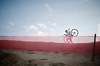 Philipp Walsleben (DEU/BKCP-Powerplus) on his way to 4th place<br /> <br /> Jaarmarktcross Niel 2014