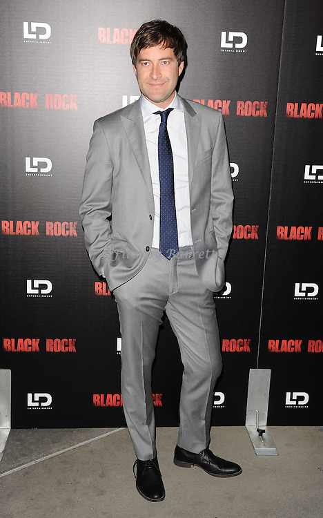 "Mark Duplass at the screening of ""Black Rock"" held at the Arclight Theatre in Los Angeles, CA. on May 8, 2013."
