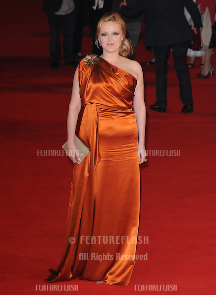 Miranda Richardson attends the We Want Sex premiere during the 5th annual Rome Film Festival in Rome, Italy. .October 30, 2010  Rome, IT.Picture: Petra / Featureflash