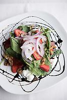 Summer salad at Coriander Restaurant in Middlebury, Vermont.