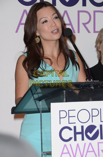 03 November - Beverly Hills, Ca - Ming-Na Wen. People's Choice Awards 2016 Nomination Press Conference held at The Paley Center for Media. <br /> CAP/ADM/BT<br /> &copy;BT/ADM/Capital Pictures